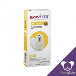 BRAVECTO 2 A 4.5 KG VERY SMALL