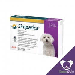 SIMPARICA 2,5 - 5 KG